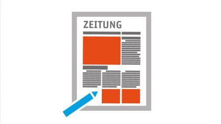 Icon einer Zeitung
